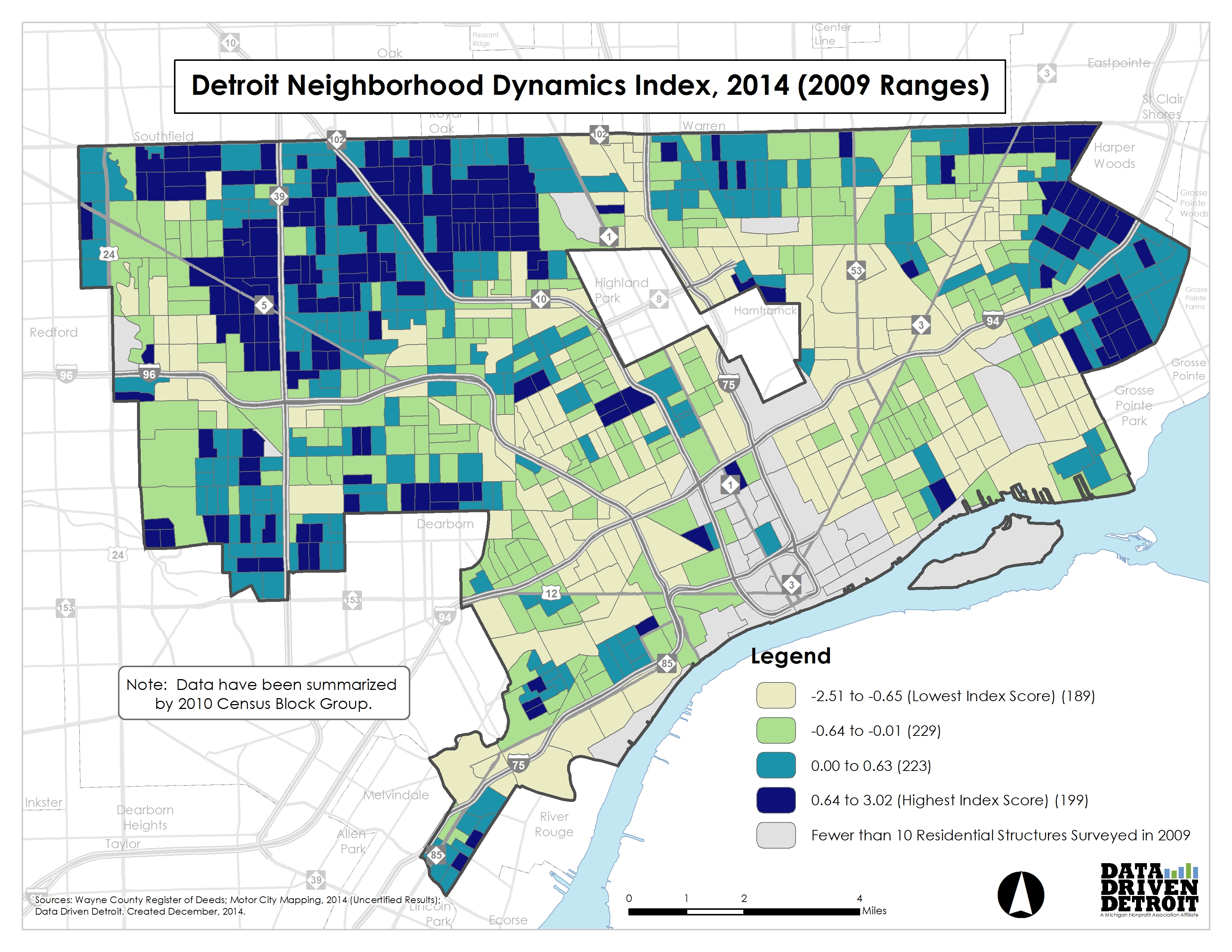 City of Change: Dynamics and Impact Potential in Detroit's ...