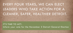 The Detroit Environmental Agenda Has Been Released