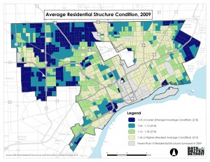 City of Change – Evolution in the Condition of Detroit's Housing Stock