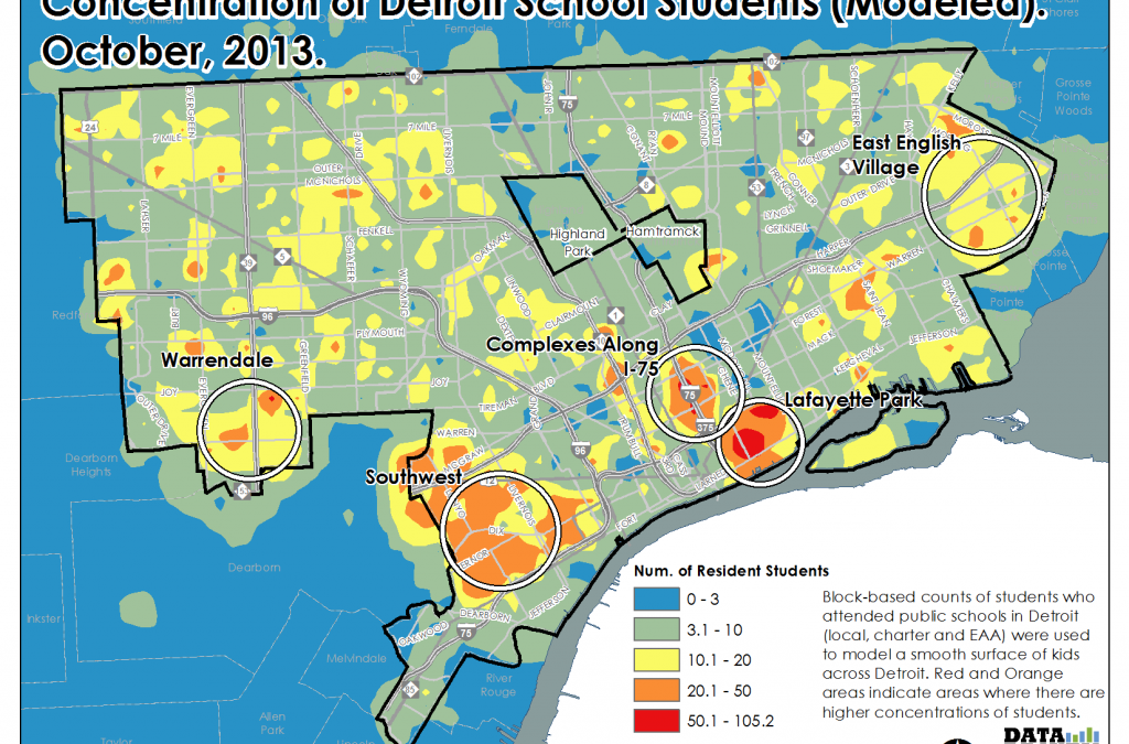 Data Show Where Detroit's Students Live