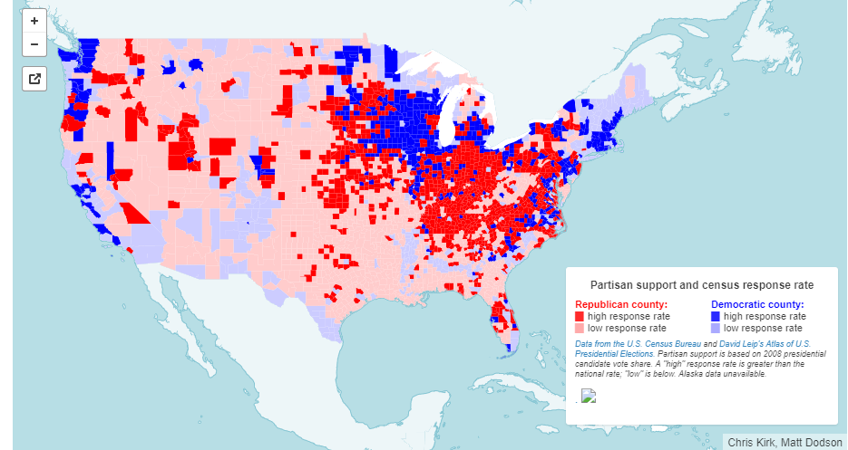 Interactive Map: Census Response Rates