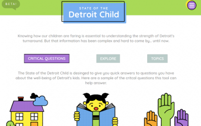 Introducing: State of the Detroit Child 2.0